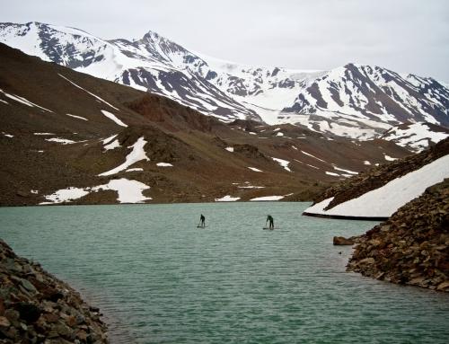 SUP expedition vid Himalaya