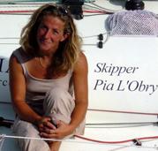 Pia skiper minitransat