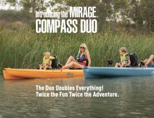 Hobie Compass DUO – en modern tandemkajak
